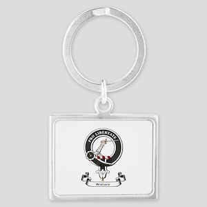 Badge-Wallace [Renfrew] Landscape Keychain